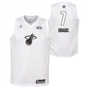 """NBA All-Star 2018 Jordan White Swingman Jersey – Goran Dragic – Youth"""