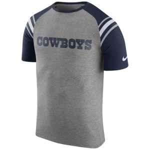 """Dallas Cowboys Enzyme Shoulder Stripe T-Shirt – Mens"""