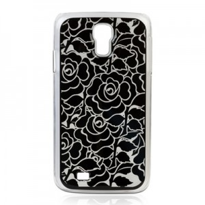 """England Black Rose Galaxy S4 Cover"""