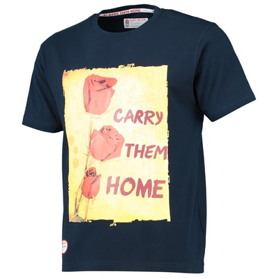 """England Classics Collection Carry Them Home T-Shirt – Navy"""