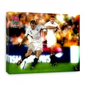 England Jonny Wilkinson Winning Kick World Cup 2003 Canvas - 508 x 406 mm