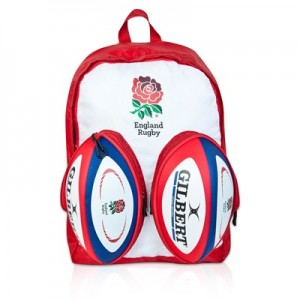 """England Rugby Ball Backpack"""