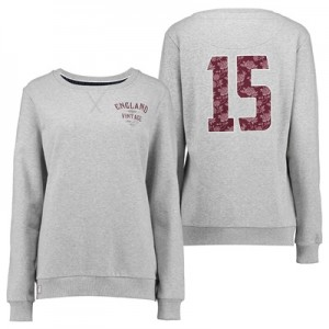"""England Authentics 15 Sweater – Grey – Womens"""