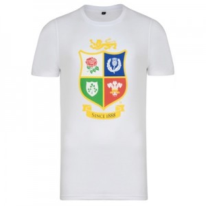 """British & Irish Lions NZ 2017 T-Shirt – White"""