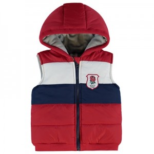 """England Panel Hooded Gillet"""