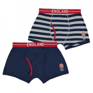 England Cotton Trunks - 2 Pack - Mens