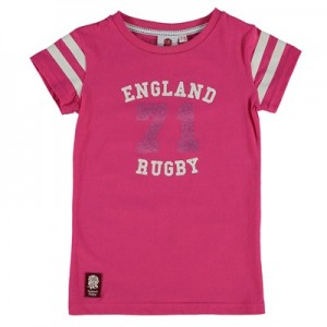 """England 71 T-Shirt – Pink – Girls"""