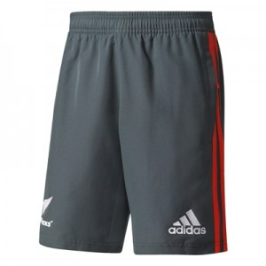 """All Blacks Woven Shorts – Dark Grey Heather/Energy/White"""