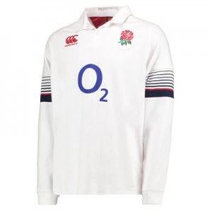 """England Rugby Vapodri Home Classic Shirt 2017-18 – Long Sleeve"""