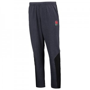 """England Rugby Vapodri Tapered Hybrid Pants – Nine Iron Marl"""