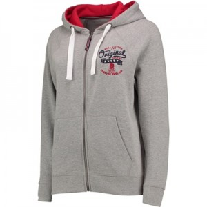 """England Authentics Real Vintage Hoodie – Grey – Womens"""