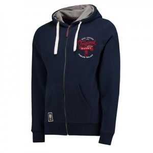 """England Authentics Real Vintage Hoodie – Navy"""