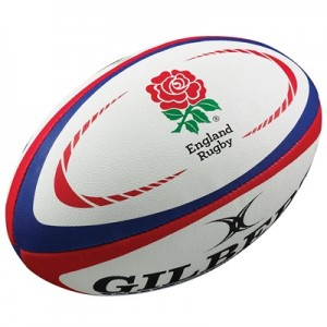 England Replica Rugby Ball - Mini
