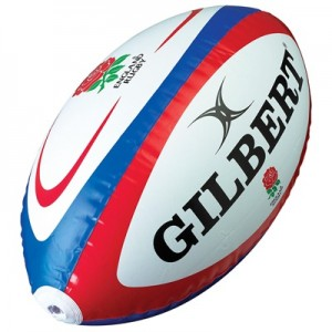 England Rugby Giant Inflatable Rugby Ball