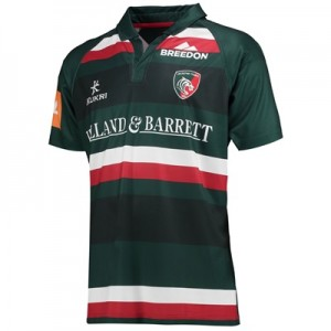 """Leicester Tigers Home Replica Jersey 2017/18"""