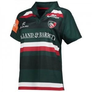 """Leicester Tigers Home Replica Jersey 2017/18 – Womens"""