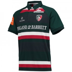 """Leicester Tigers Home Classic Jersey Short Sleeve 2017/18"""