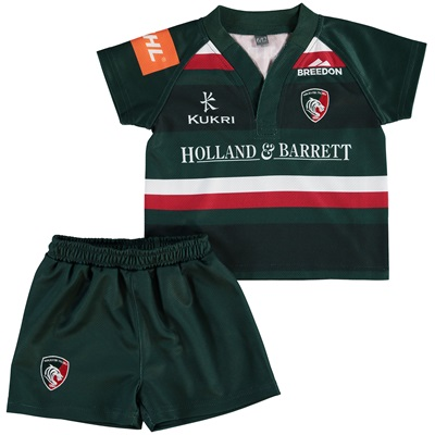 """Leicester Tigers Home Replica Kit 2017/18 – Infants"""