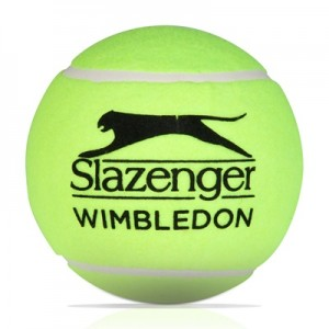 Wimbledon Slazenger Midi Ball – Yellow