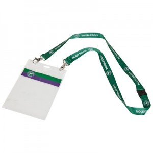 Wimbledon Lanyard w. Ticket Holder