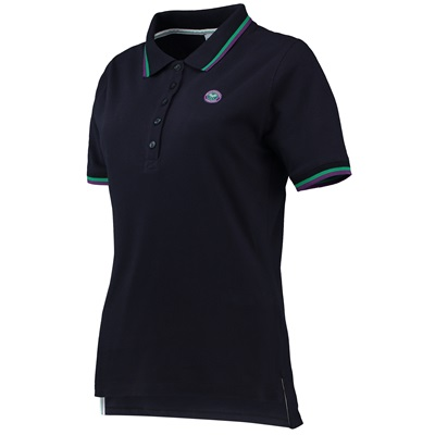 Wimbledon Polo – Navy – Ladies