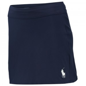 Wimbledon Ralph Lauren Ball Girl Skort  – French Navy – Ladies Navy