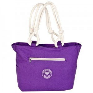 Wimbledon Tote Bag – Purple