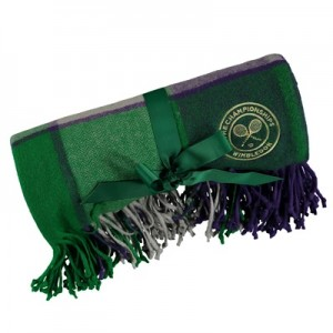 Wimbledon Picnic Blanket – Green/Purple