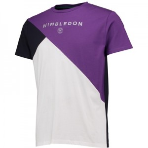 Wimbledon Colour Cross T-Shirt