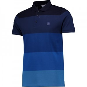 Wimbledon Ombre Polo Shirt – Midnight