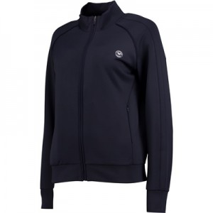 Wimbledon Technical Zip Through Top – Midnight – Ladies