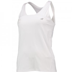 Wimbledon Babolat Performance Racerback – White – Ladies