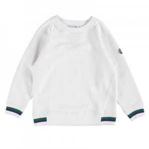 Wimbledon Sweater – White – Junior
