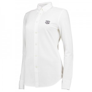 Wimbledon Ralph Lauren Oxford Shirt – White – Ladies