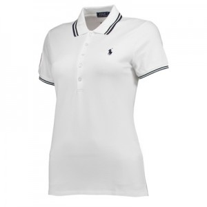 Wimbledon Ralph Lauren Polo – White – Ladies