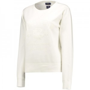 Wimbledon Ralph Lauren Sweatshirt – Deckwash White – Ladies