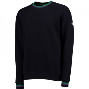 Wimbledon Tipped Sweatshirt – Midnight