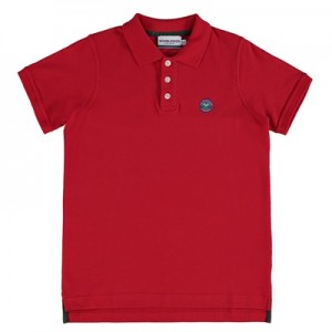 Wimbledon Classic Pique Polo – Mars Red – Junior
