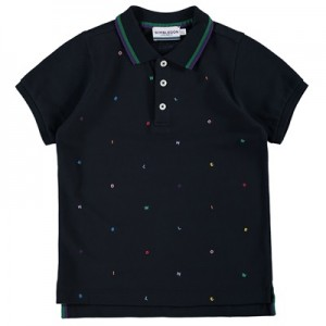Wimbledon Letters Polo – Midnight – Boys