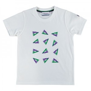 Wimbledon Flag T-Shirt – White – Girls