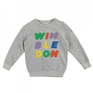 Wimbledon Sweatshirt – Grey Marl – Girls