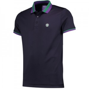 Wimbledon Performance Polo – Midnight