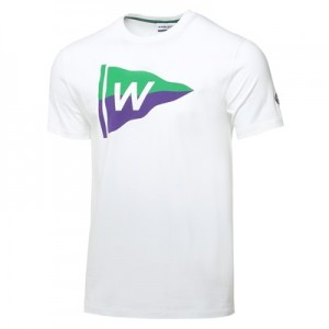 Wimbledon Flag T-Shirt – White