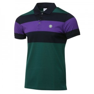Wimbledon Ombre Polo – Deep Green
