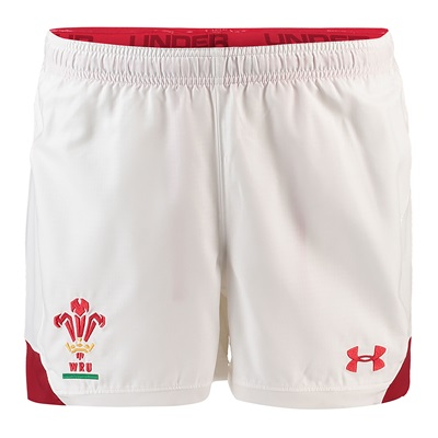 """Welsh Rugby Home Supporters Shorts – Mens"""