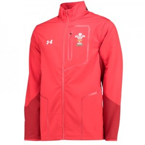 """Welsh Rugby Presentation Jacket – Red – Mens"""
