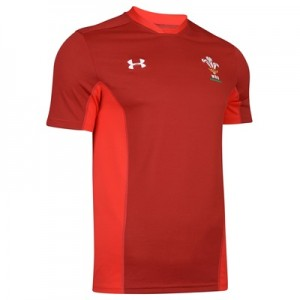 """Welsh Rugby Training Top – Daredevil Red – Mens"""