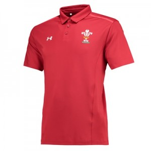"""Welsh Rugby Team Polo – Daredevil Red – Mens"""