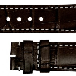 Baume et Mercier 20mm Brown Alligator Strap MX007847