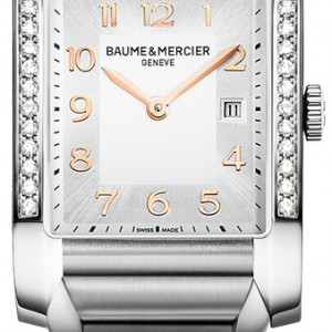 Baume & Mercier Hampton Rectangular Women's Watch 10023